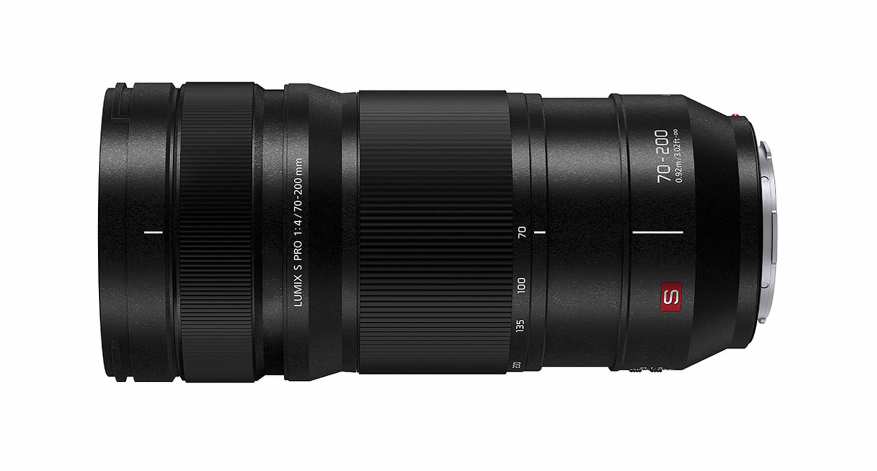 LUMIX S PRO 70-200mm F4 L-Mount Telephoto Lens, LEICA Certified - S-R70200