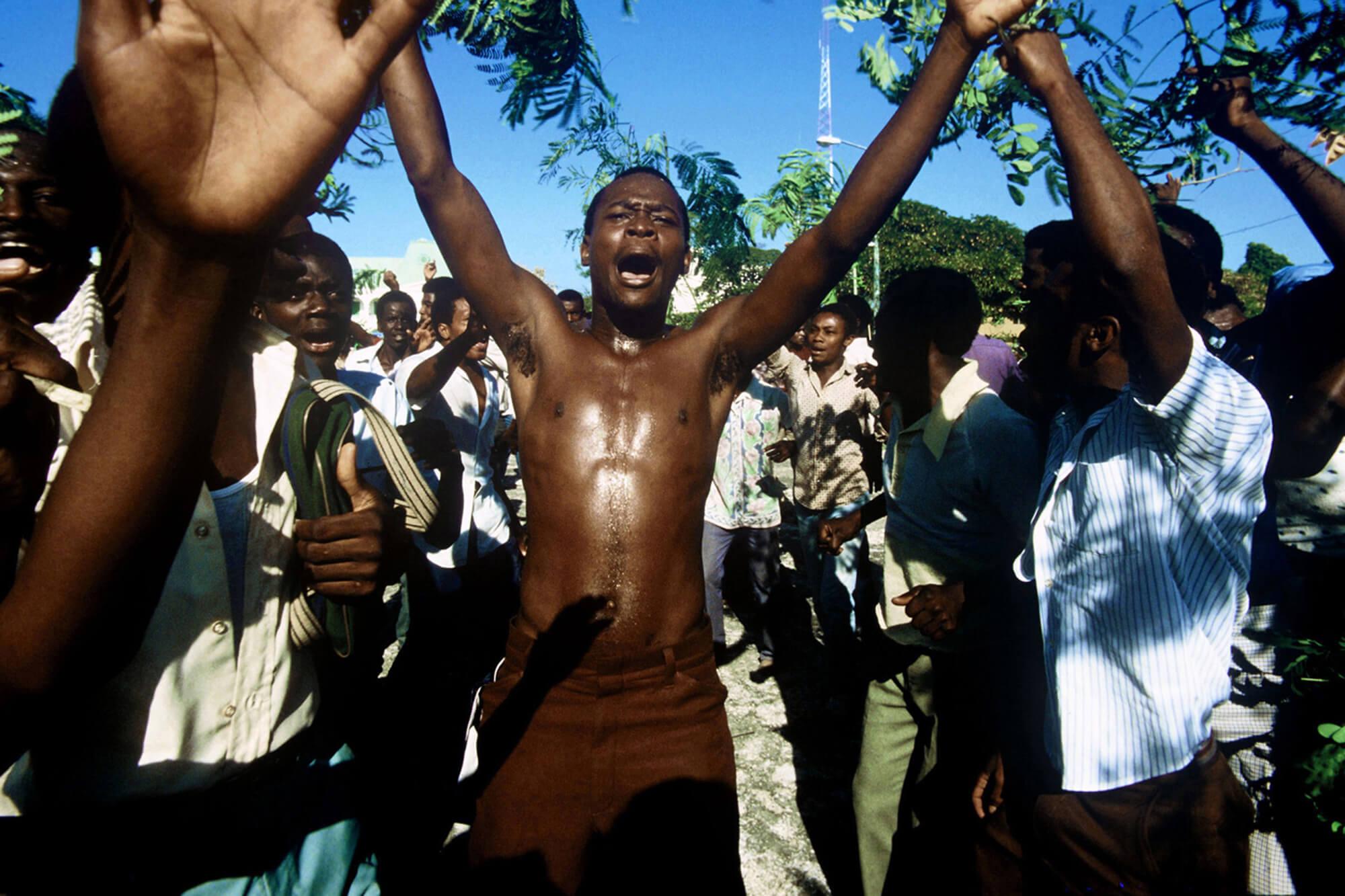 Steber-Haiti_DUVALIER-REGIME-FALLS