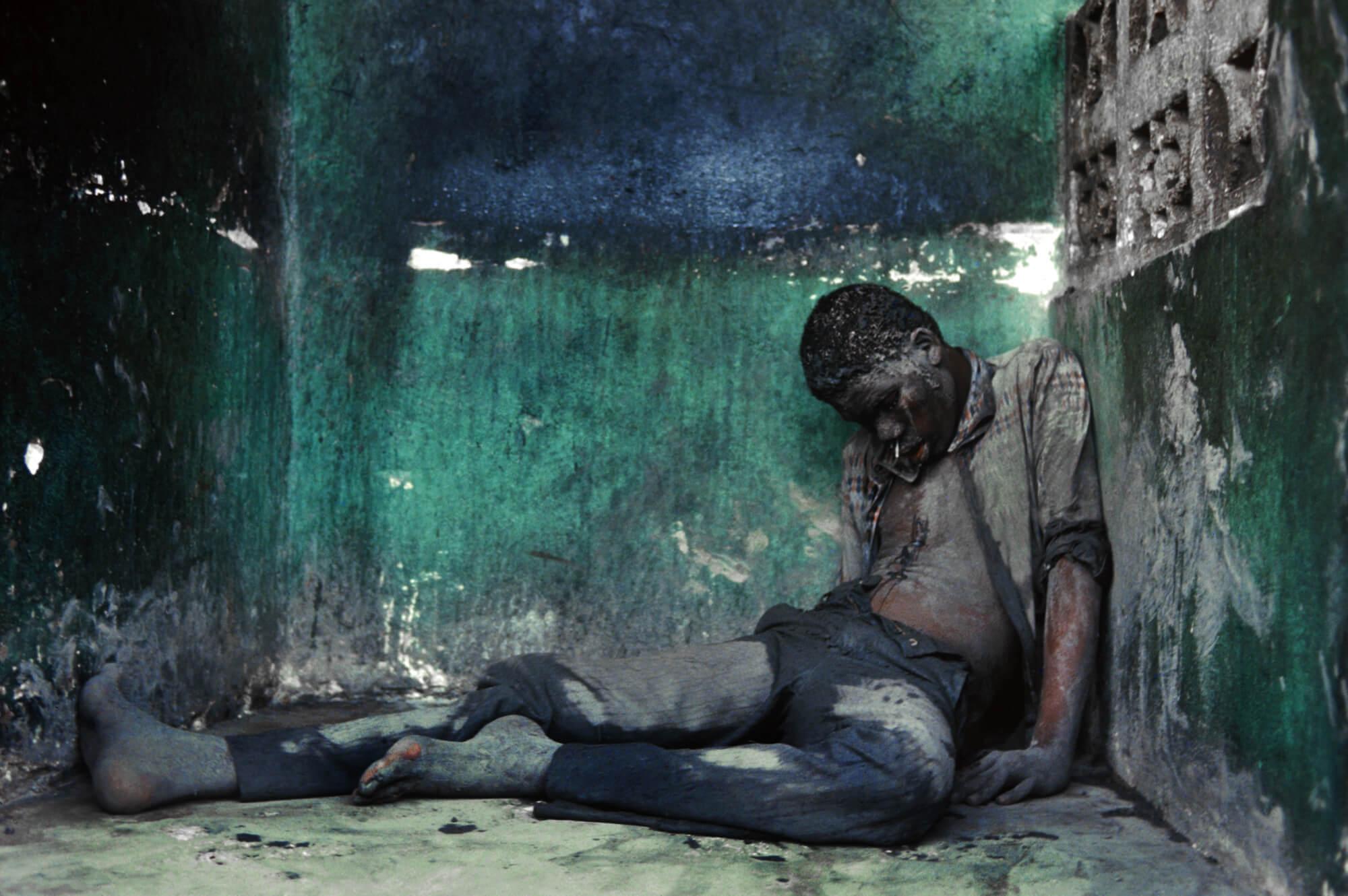 Steber_Haiti_Dead-Blue-Man_Politics